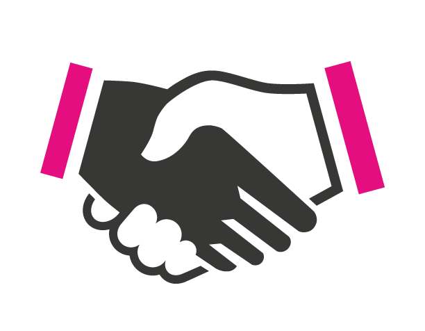 sales and marketing alignment handshake