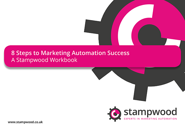 stampwood marketing automation specialist 8 steps white paper front page