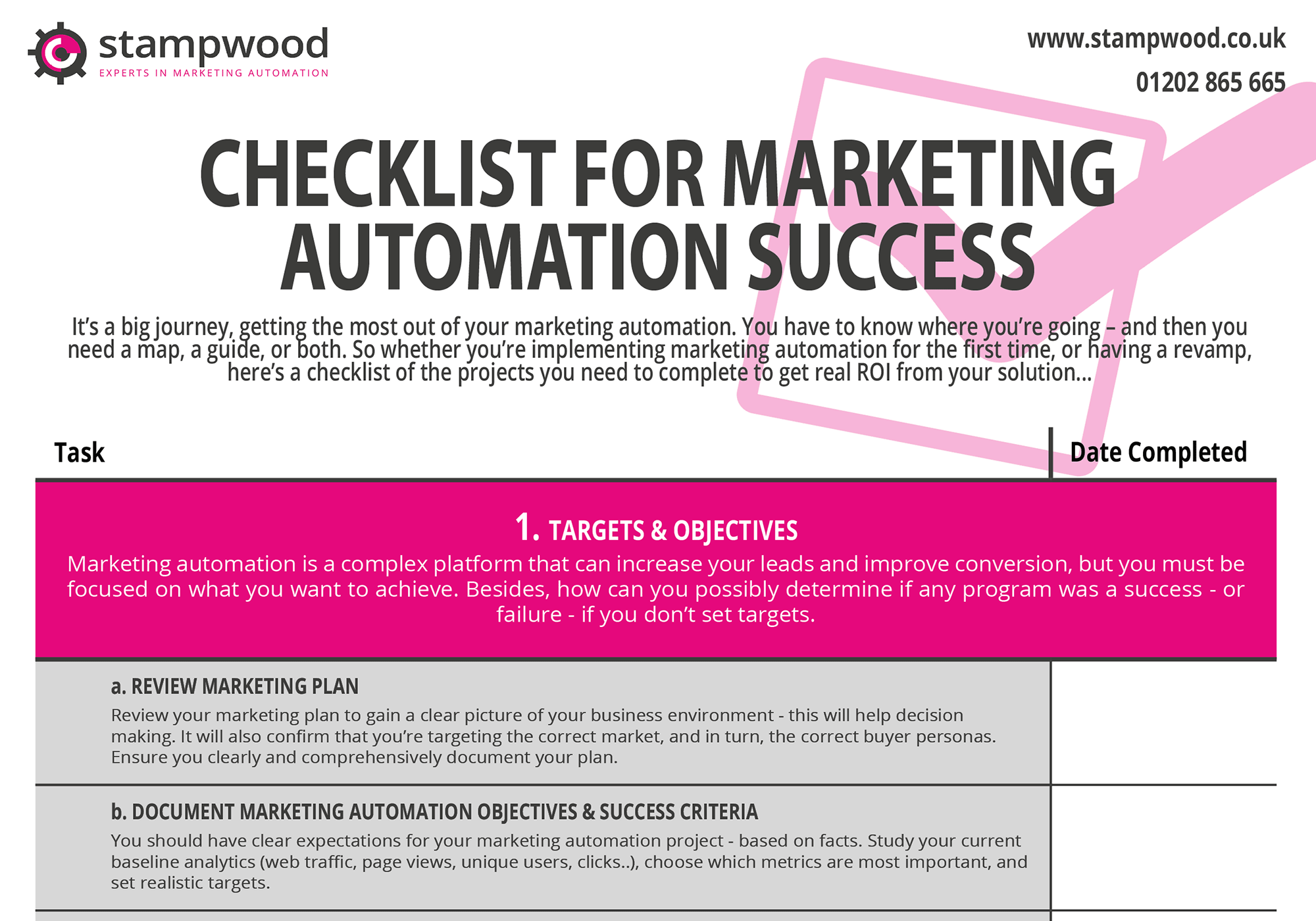 checklist-for-marketing-automation-success-front-page